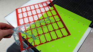Step 2: Laser process